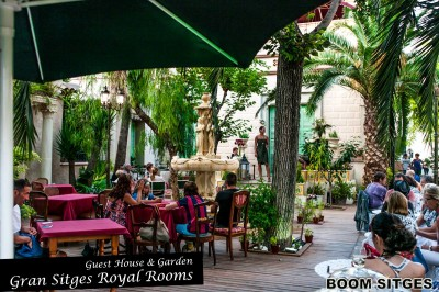 Hotel Gran Sitges Royal Rooms Guest House and garden