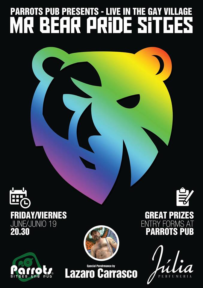 19 Junio Lazaro Carrasco Gay Pride Sitges