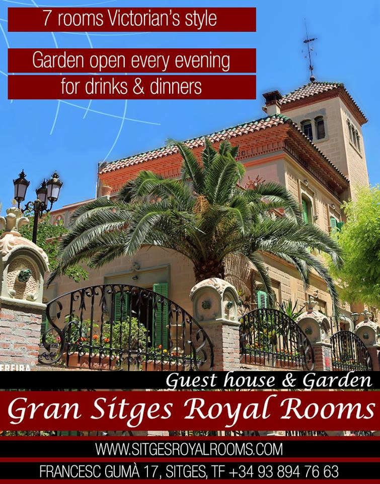 Guest house & Garden - Sitges Royal Rooms - Hotel Guest House