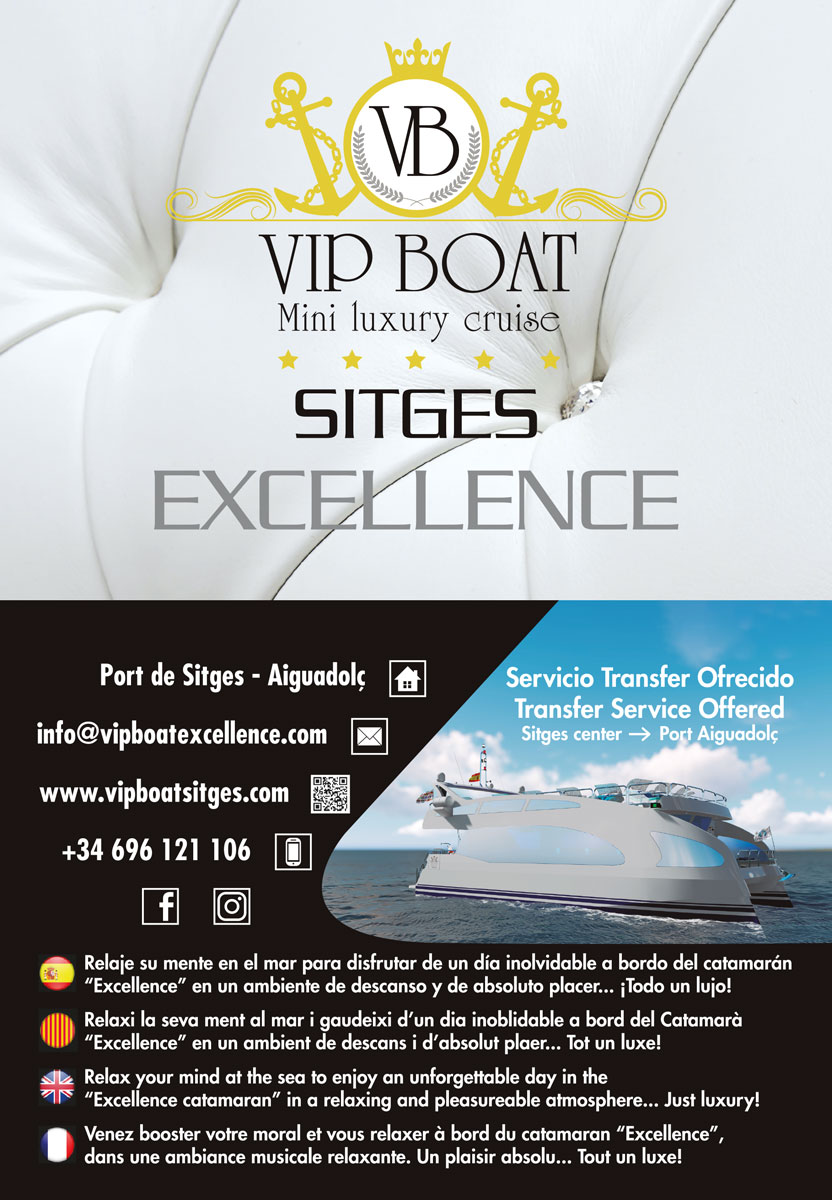 Catamarán Sitges VIP BOAT EXCELLENCE