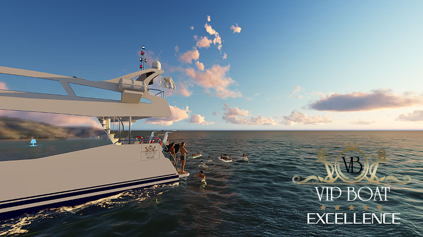 Catamarán Vip Boat Excellence Sitges Barcelona - Vip Boat Excellence, Sitges