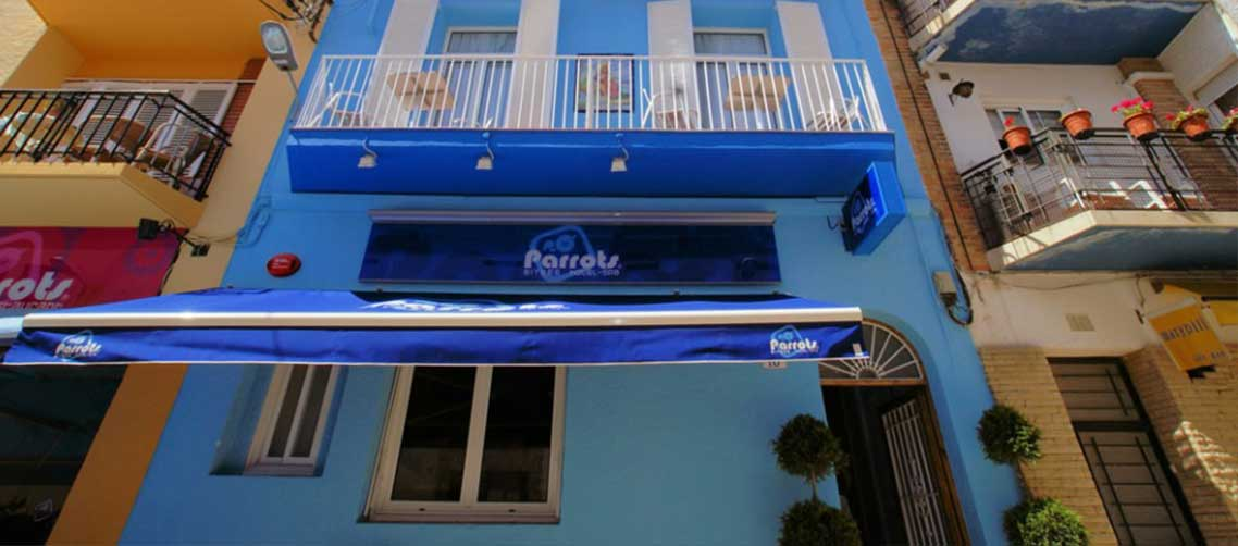 Parrots Hotel Gay Hotel Sitges