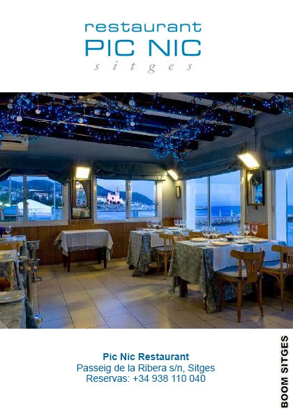 Pic Nic Restaurant Sitges