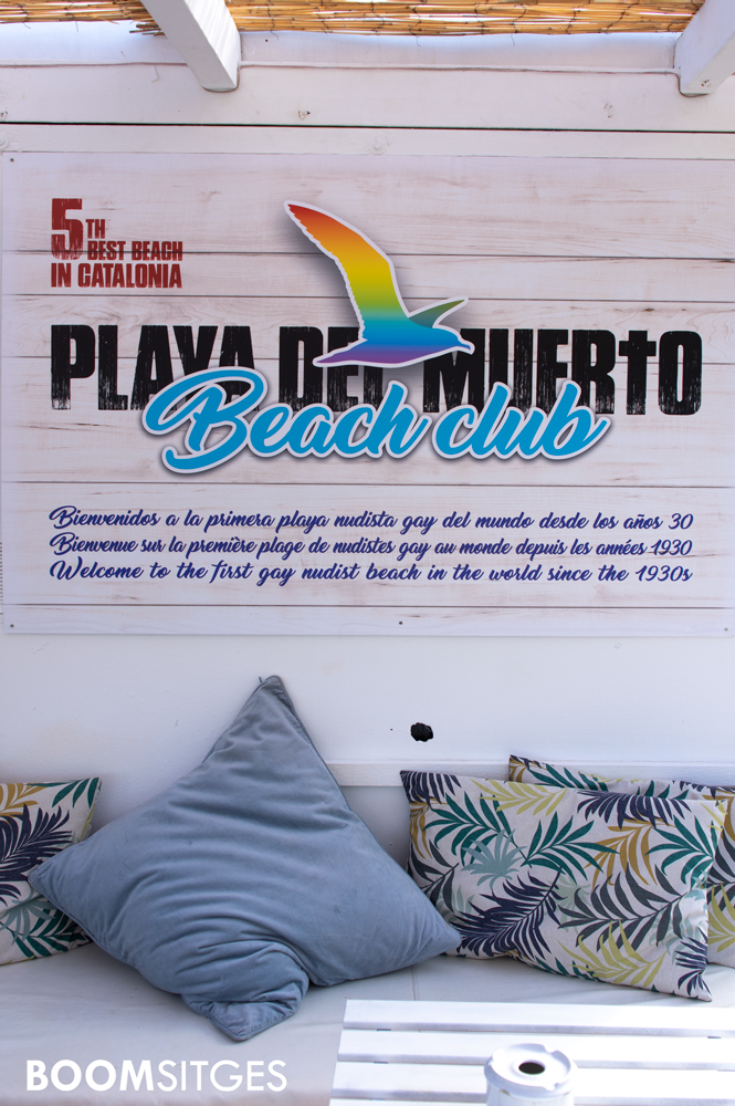 Primera Playa Nudista Gay del mundo - Playa del Muerto Beach Club, Sitges