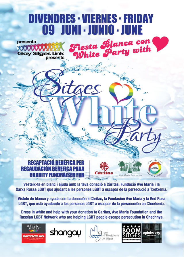 Gay Pride Sitges White Party Fiesta Blanca 2017